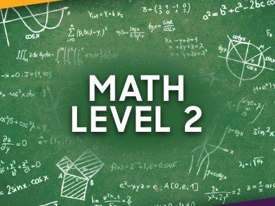 MATH LEVEL 2 SAT SUBJECT STUDY GUIDE