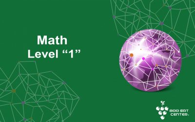 MATH LEVEL 1 SAT SUBJECT – Virtual
