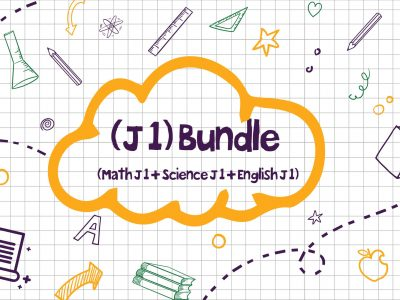 Package (Math/English/Science) J 1