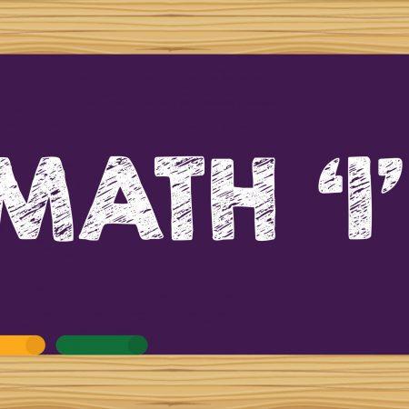 MATH LEVEL 1 SAT SUBJECT WORKSHOP