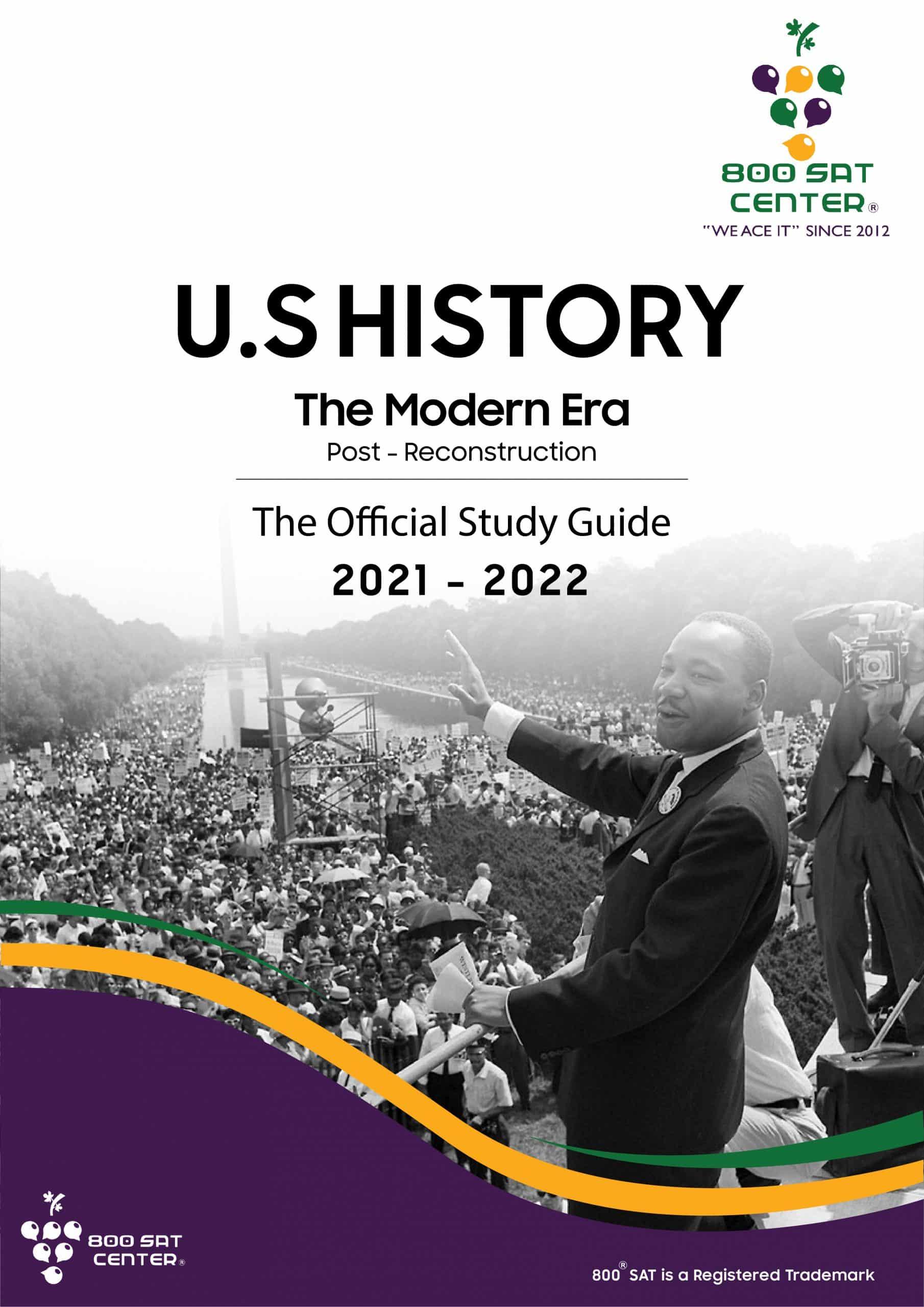 U.S History Modern Era Books Cover
