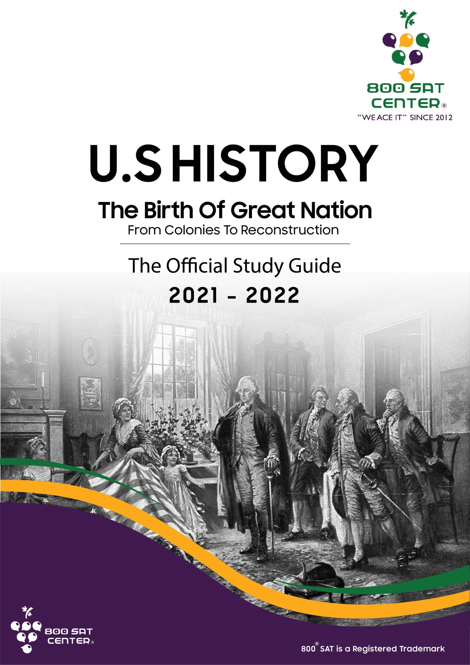 U.S History The birth of Great Nation Book Cover